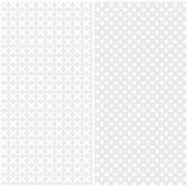 Set of light seamless texture in gray of interwoven loops. Vector eps 10. — Stock Vector