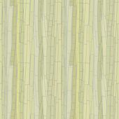 Naadloze lichtpatroon van bamboe stengels in tinten groen. Vector eps 10. — Stockvector