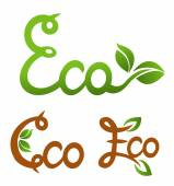 Ecology vector set. Eco-icons. — Stock Vector