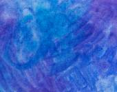 Watercolor background. blue and purple color texture — Stock Photo