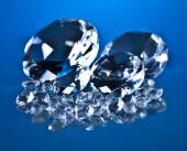 Diamond and brillants — Stock Photo