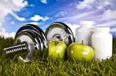 Fitness and healthy lifestyle — Foto Stock