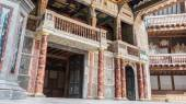Shakespeare Globe theatre in London UK — Foto Stock