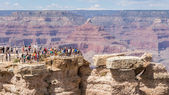 Agrand view on the gand canyon form mather point — Stock Photo