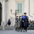 ROME, ITALY - FEBRUARY 22, 2015: Change of guards at the Quirinale Palace in Rome — Stock Photo #68854279