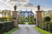 DALFSEN, NETHERLANDS, - May 01, 2015:  Medieval estate house Den Berg in Dalfsen MIllingen — Stock Photo
