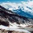 Mountain snow with clouds — Stock Photo #66417119