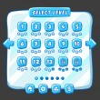 ������, ������: Level selection game menu ice style