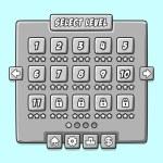 Постер, плакат: Stone game menu level interface ui panels