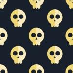 wzór tła czaszki — Wektor stockowy  #62547591
