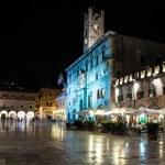Night view of Ascoli Piceno center — Stock Photo #53064135