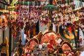 Old christmas fair in Salzburg — Stockfoto