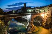 Devil's bridge of Cividale del Friuli — Stock Photo