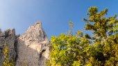 """The """"sphinx"""" of Grauzaria Peak, italy — Stock Photo"""