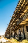 The old structures of the Port of Trieste — Stock Photo