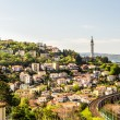 Old lighthouse in the bay of Trieste — Stock Photo #82385364