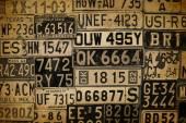 License Plates — Stock Photo