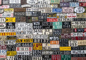Various License Plates — Stock Photo