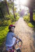 On bike — Foto de Stock