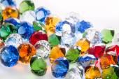 Multicolored Diamonds Background — Foto de Stock
