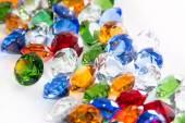 Multicolored Diamonds — Stockfoto