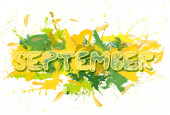 September. — Stock Photo