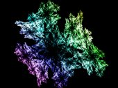 Abstract fractal wreckage, digital artwork for creative graphic design  — Stock Photo