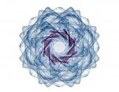 Абстрактные фрактальных узоров и форм. Фрактальные текстуры для печати. — Стоковое фото