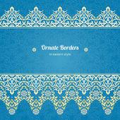 Border in Eastern style. — Cтоковый вектор