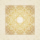 Vintage pattern in Victorian style. — Cтоковый вектор