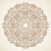 Vintage pattern in Victorian style. — Stock Vector