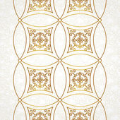 Vintage border in Eastern style. — Stock Vector