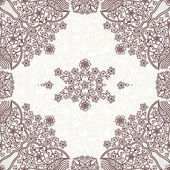 Seamless pattern in Eastern style. — Stock Vector