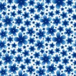 Blue floral seamless pattern on light background. — Stock Vector #73586193