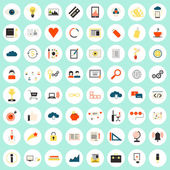 SEO icons big set — Stock Vector
