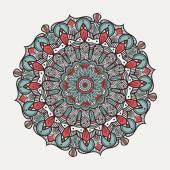 Mandala - traditional indian symbol — Stock Vector
