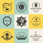 Coffee Shop Logo Collection — Stock Vector #61610363
