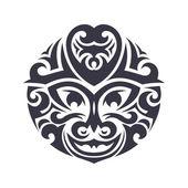 Tribal Mask — Stock Vector