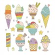 Ice Cream Collection — Stock Vector #64114255