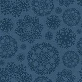 Snowflake Xmas Patter — Cтоковый вектор