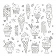 Ice Cream Collection — Stock Vector #66250167