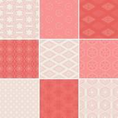 Seamless geometrical patterns. — Cтоковый вектор