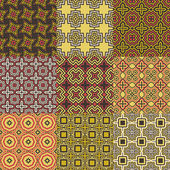 Graphical seamless patterns — Stock Vector
