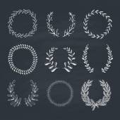 Laurels and Wreaths Collection — Stockvector