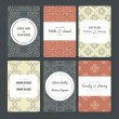 Set of card templates — Stock Vector #74201145