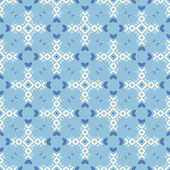 Perfect blue graphical seamless pattern. — Stock Vector