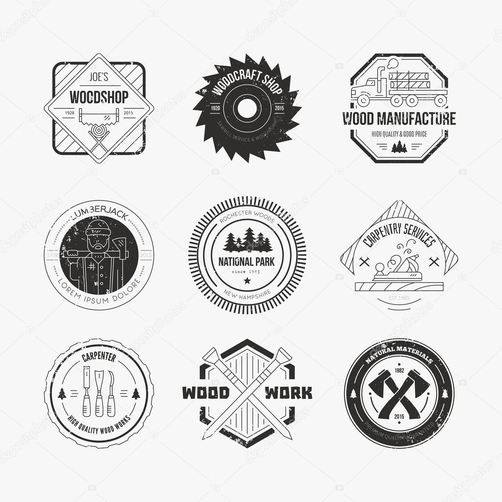 Carpentry logo samples