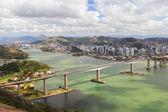 третий мост (ponte терсейра), панорамный вид, витория, vila v — Стоковое фото