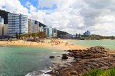 Beach Praia da Costa and Praia da Sereia, Vila Velha, Espirito S — Stock Photo