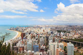 Panoramic view of Vila Velha, beach Praia da costa, Espirito San — Stock Photo